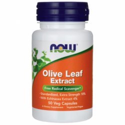 Olive Leaf Extract, 50 Veg Caps