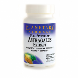 Full Spectrum Astragalus Extract, 500 mg 60 Tabs