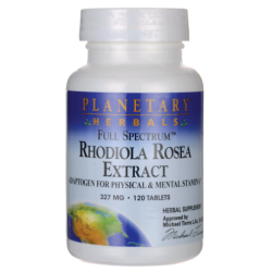 Full Spectrum Rhodiola Rosea Extract, 327 mg 120 Tabs
