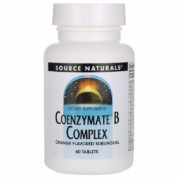 Coenzymate B Complex  Orange Flavored, 60 Tabs