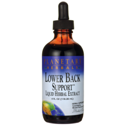 Lower Back Support, 4 fl oz (118.28 mL) Liquid