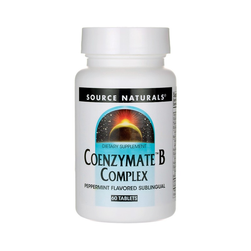 Coenzymate B Complex  Peppermint Flavored Sublingual, 60 Tabs