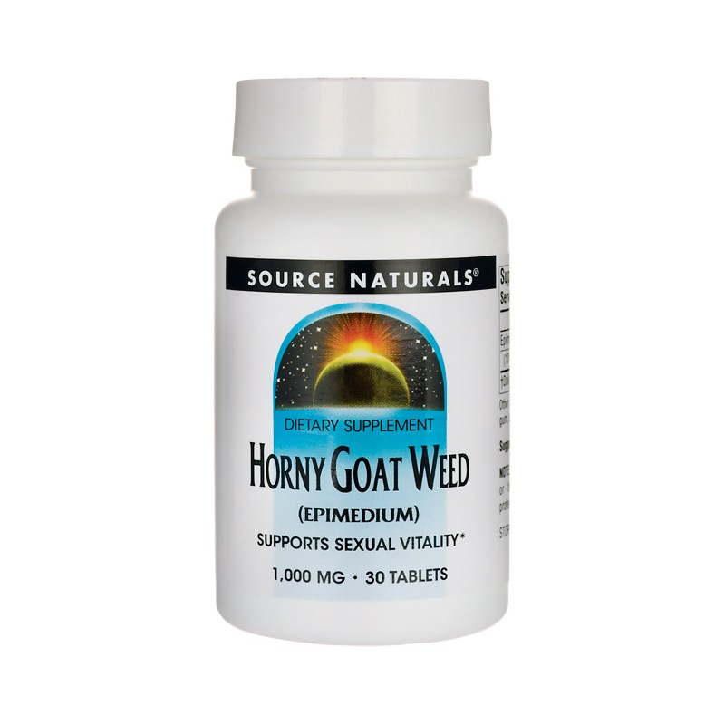Horny Goat Weed, 1,000 mg 30 Tabs