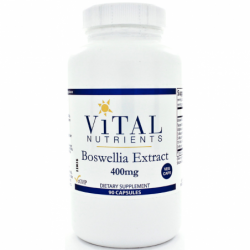 Boswellia Extract, 400 mg 90 Veg Caps