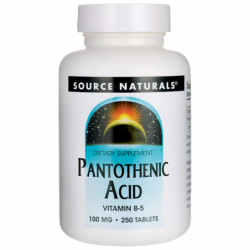 Pantothenic Acid, 100 mg 250 Tabs