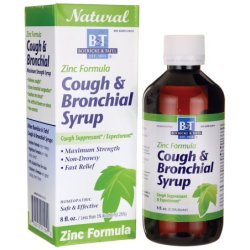 Zinc Formula Cough & Bronchial Syrup, 8 fl oz Liquid