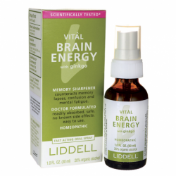 Vital Brain Energy with Ginkgo, 1 fl oz Liquid