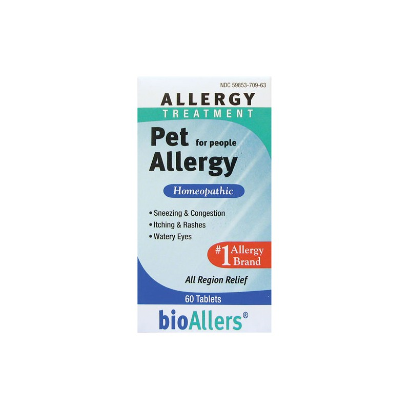 Pet Allergy Treatment For People, 60 Tabs