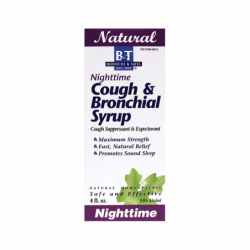 Nighttime Cough & Bronchial Syrup, 4 fl oz Liquid