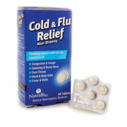 Cold and Flu Relief, 60 Tabs