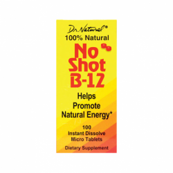 No Shot B12, 1,000 mcg 100 Tabs