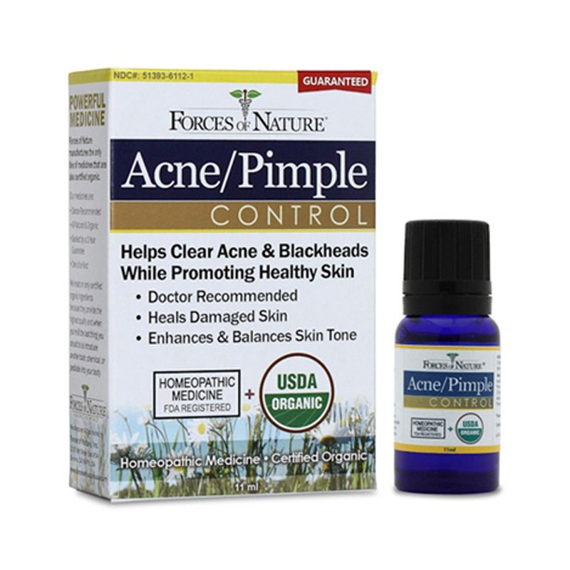 Organic AcnePimple Control, 11 mL Liquid