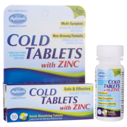 Cold Tablets with Zinc, 50 Tabs