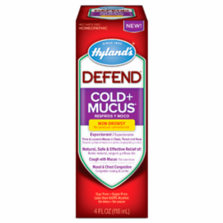Defend Cold  Mucus  NonDrowsy, 4 fl oz (118 mL) Liquid