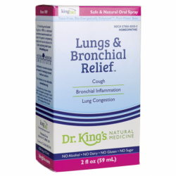Lungs & Bronchial Relief, 2 fl oz (59 mL) Liquid
