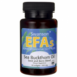 Sea Buckthorn Oil Seed and Berry Blend, 60 Sgels