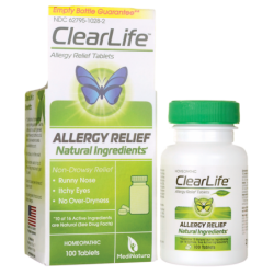 ClearLife Allergy Relief Tablets, 100 Tabs
