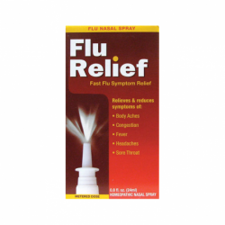 Flu Relief Nasal Spray, 0.8 fl oz Liquid