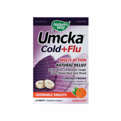 Umcka Cold  Flu  Orange, 20 Chwbls