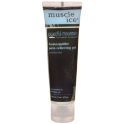Muscle Ice Homeopathic Pain Relieving Gel, 2 oz (57 grams) Gel