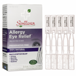 Allergy Eye Relief Eye Drops SingleUse, 20 Doses