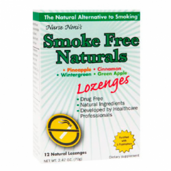 Smoke Free Naturals Lozenges  Assorted Flavors, 12 Lozenges