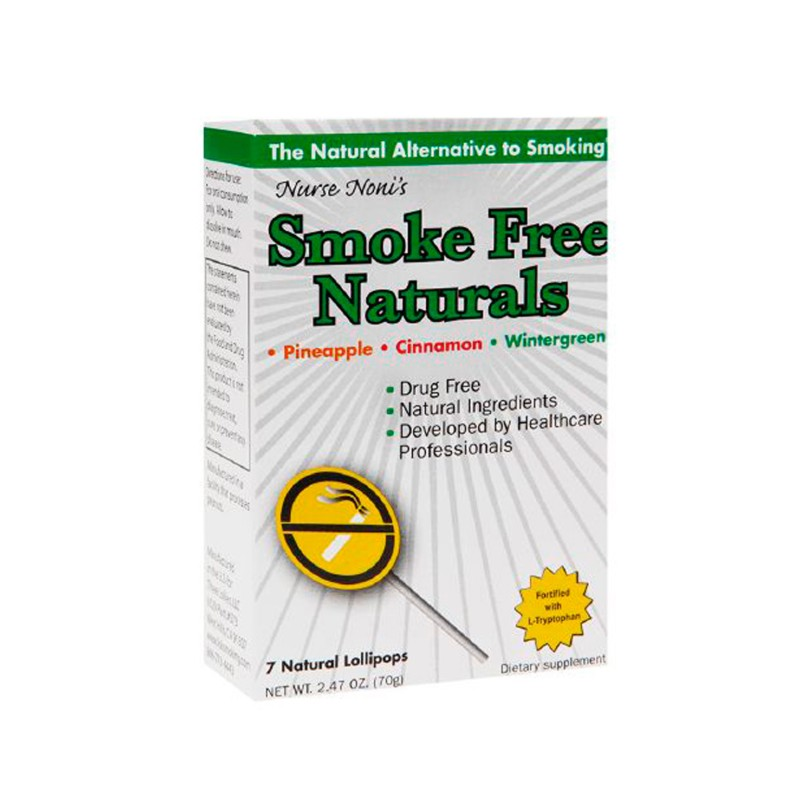 Smoke Free Naturals Lollipops  Assorted Flavors, 7 Ct