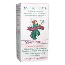 Yeast Arrest Vaginal Suppositories, 14 Ct