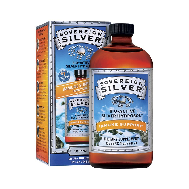 BioActive Silver Hydrosol  Family Size, 32 fl oz (946 mL) Liquid