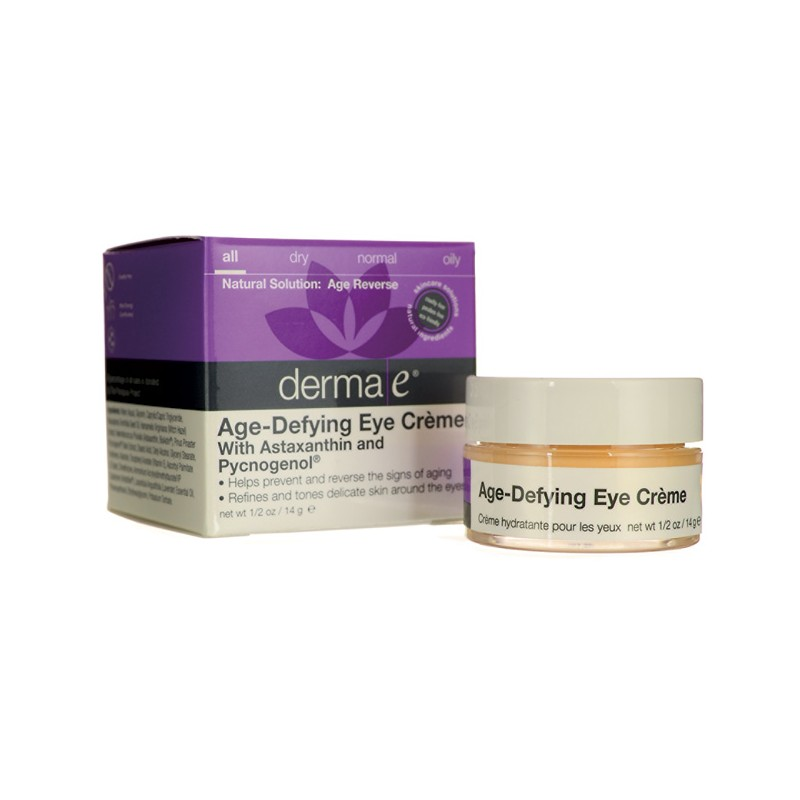 AgeDefying Eye Creme with Astaxanthin and Pycnogenol, 0.5 oz Cream