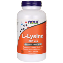 LLysine, 500 mg 250 Caps