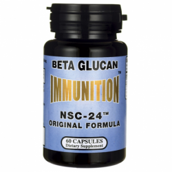 Immunition NSC24 Beta Glucan Original Formula, 3 mg 60 Caps