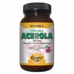 Chewable Acerola, 180 Wafers