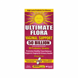 Ultimate Flora Vaginal Support 50 Billion, 30 Veg Caps