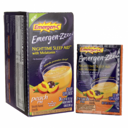 EmergenZZZZ Nighttime Sleep Aid Peach PM, 24 Pkts