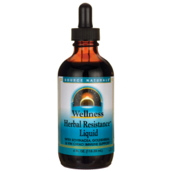 Wellness Herbal Resistance Liquid, 4 fl oz (118.28 mL) Liquid