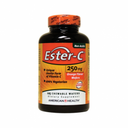 EsterC Orange Flavor, 250 mg 125 Wafers