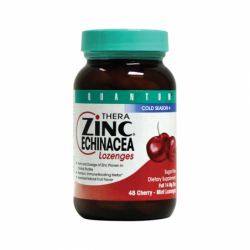 Thera Zinc Echinacea Lozenges Cherry Mint, 48 Lozenges