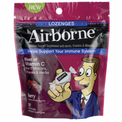 Airborne  Berry Flavored, 20 Lozenges
