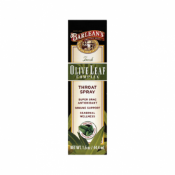 Olive Leaf Complex Throat Spray, 1.5 oz (44.4 mL) Liquid