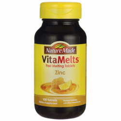 VitaMelts Zinc  Honey Lemon, 100 Tabs