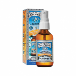 BioActive Silver Hydrosol Throat Spray, 10 ppm 2 fl oz (59 mL) Liquid