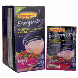 EmergenZZZZ Nighttime Sleep Aid Berry PM, 24 Pkts