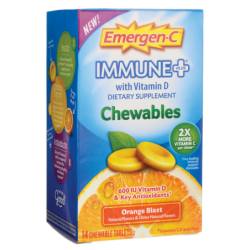 EmergenC Immune Plus Orange Blast, 14 Chwbls