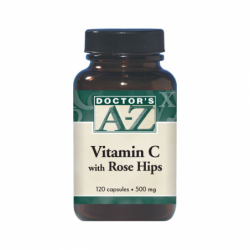 Vitamin C with Rose Hips, 500 mg 120 Caps