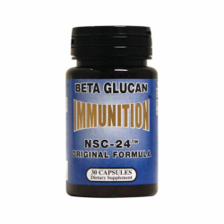 Immunition NSC24 Beta Glucan Original Formula, 3 mg 30 Caps