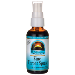 Wellness Zinc Throat Spray  Lemon Flavor, 2 fl oz (59.14 mL) Liquid