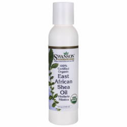 100 Certified Organic East African Shea Oil, 4 fl oz (118 ml) Liquid
