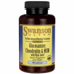 Glucosamine, Chondroitin & MSM with HyalJoint, 90 Caps