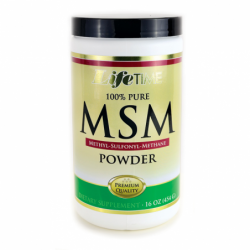 100 Pure MSM Powder, 16 oz Pwdr